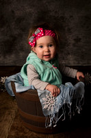 Kairi 9 Month session (with Kaeden) Jan 2018